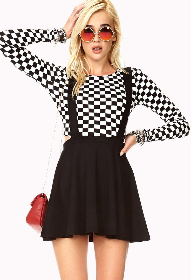 Street-Chic Overall Dress | FOREVER21 - 2000111857, $12.80