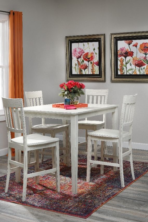 Pin On Dining Room Counter height dining sets 5 piece