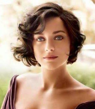 Mujer: Estilo y Belleza: Pelo Corto Ondulado 2013/2014