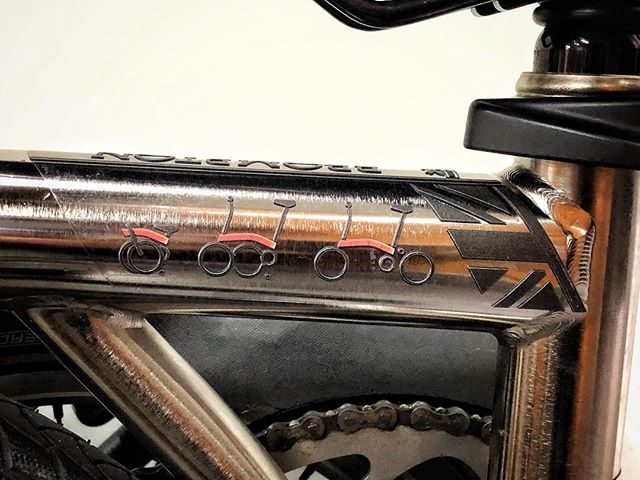 New Decal Sticker for Brompton Frame