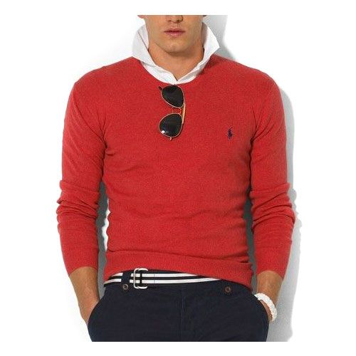 Ralph Lauren Classic Cashmere Pull Lacoste Homme uge