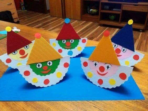 Birthday clowns