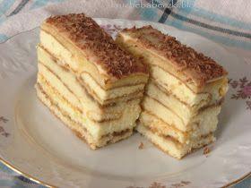 kruche babeczki: Ciasto kawowo-biszkoptowe