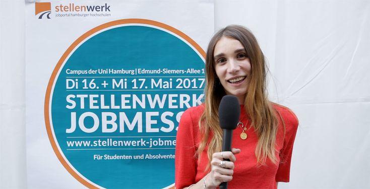 Pointer-Reporterin Jana war auf der Stellenwerk Jobmesse und hat Studis zu den Themen Bewerbung und Jobeinstieg befragt
