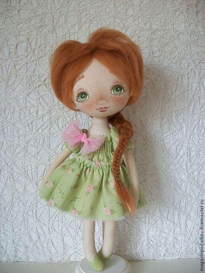 Коллекционные куклы ручной работы. Ярмарка Мастеров - ручная работа Кукла малышка Тома. Handmade.