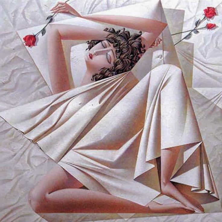 Cubismo Pinturas Modernas al Óleo