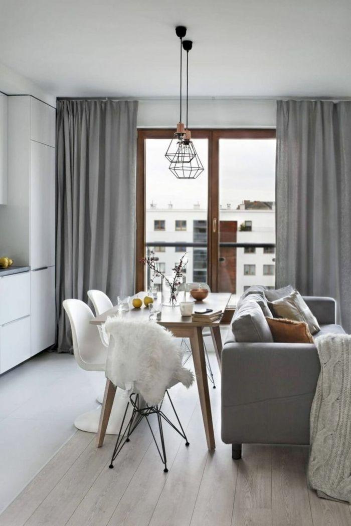 ▷ 1001 + ideas sobre decoración salón gris y blanco | Living room ...