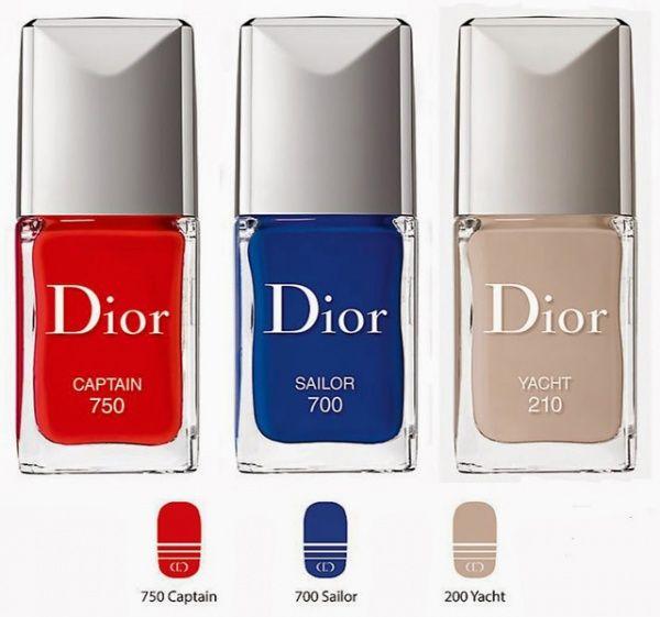 Лак для ногтей Dior Summer 2014