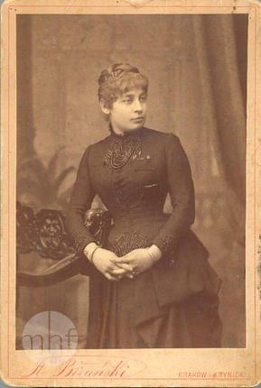 portret, Zofia z Glatmanów Ludwikowa Dihmowa ok. 1870