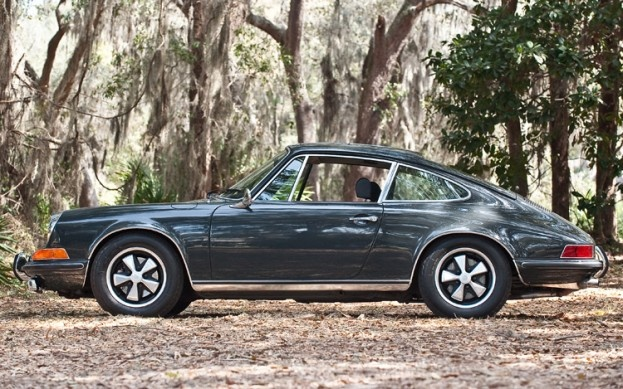 Steve McQueen's 1970 Porsche 911S Heading To Auction