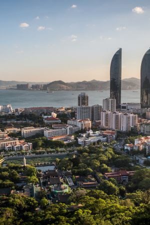 Xiamen, China | Xiamen, a port city which translates to 'Gate of China,' was voted the country's cleanest city and is known for its natural beauty and the Nanputuo Temple, featuring the world's oldest Chinest Buddhist manuscript.