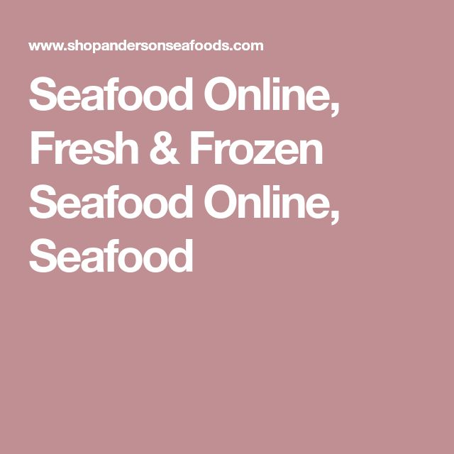Seafood Online, Fresh & Frozen Seafood Online, Seafood