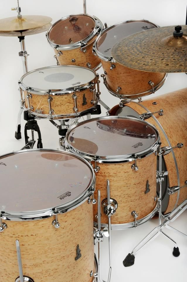 BRADY Jarrah Ply drum kit (Tanami satin finish)