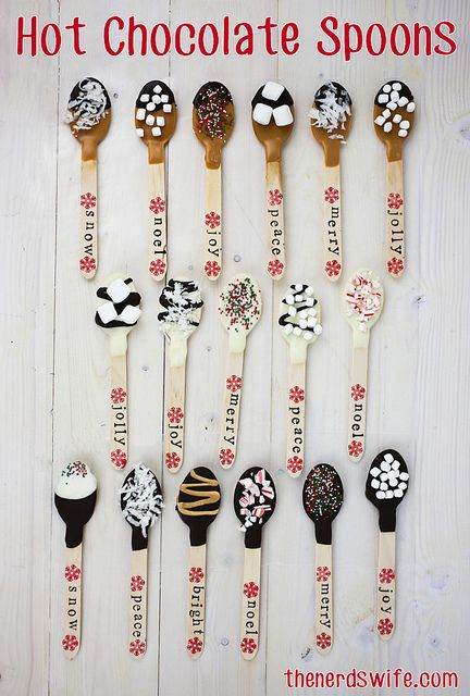 Hot Chocolate Spoons by thenerdswife, via Flickr