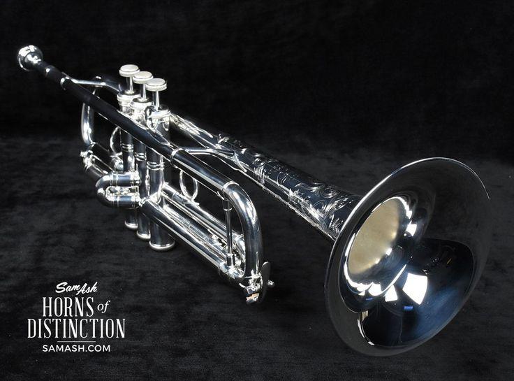 Bach Mariachi Stradivarius Trumpet LR190S43B SamAsh #AME VIVA - band instrument repair sample resume