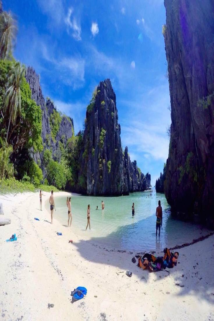 Hidden Beach - El Nido, Philippines lewisldt