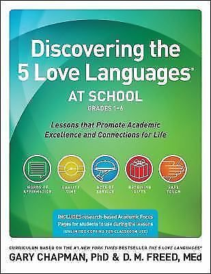 Discovering the 5 Love Languages at School Grades 1-6 Gary Chapman DM Freed | Books, Textbooks, Education | eBay!