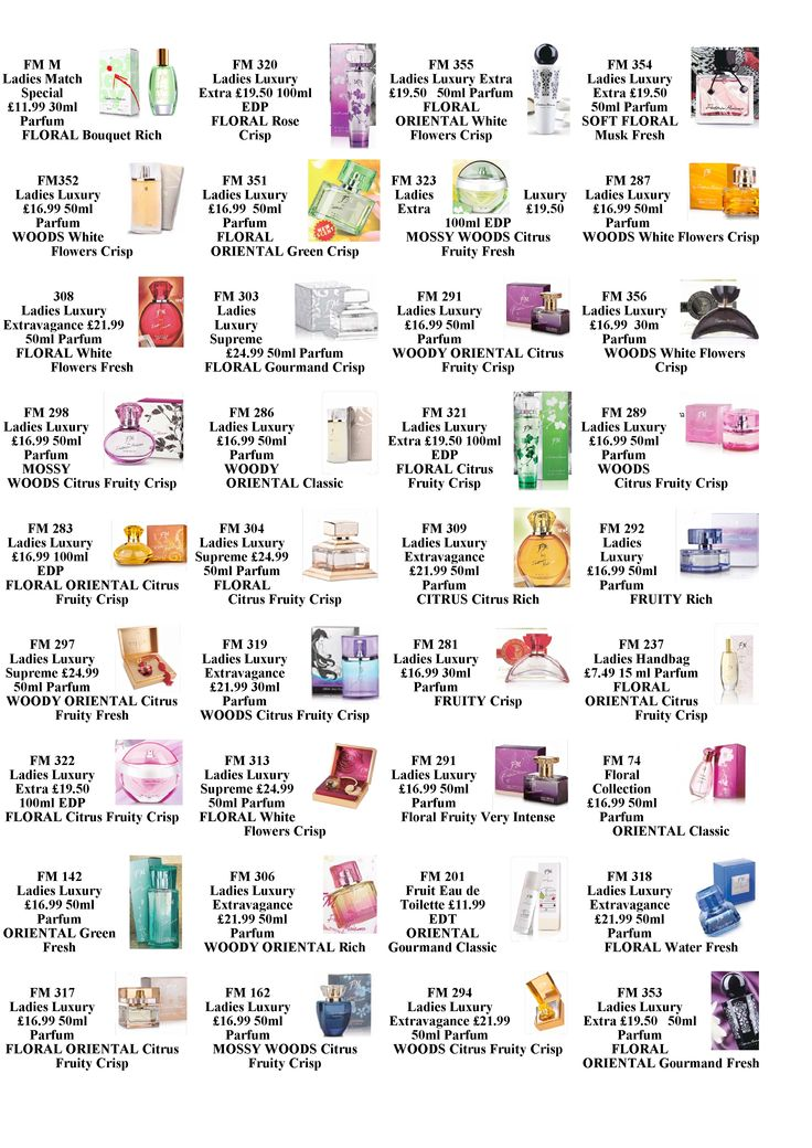 if you know what type of fragrance group you love why not try our FM perfumes from the same group. a one 2 one consultation can be arranged