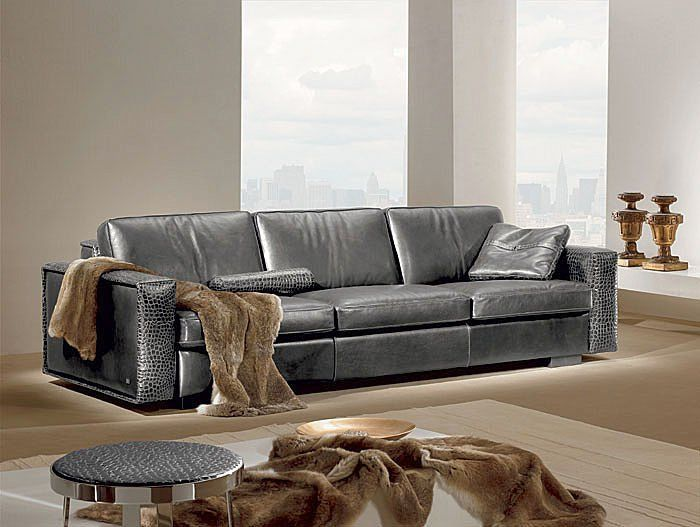 Contemporary Leather Sofas For Stylish, Modern And Bright Homes   A Sofa Is  Considered The