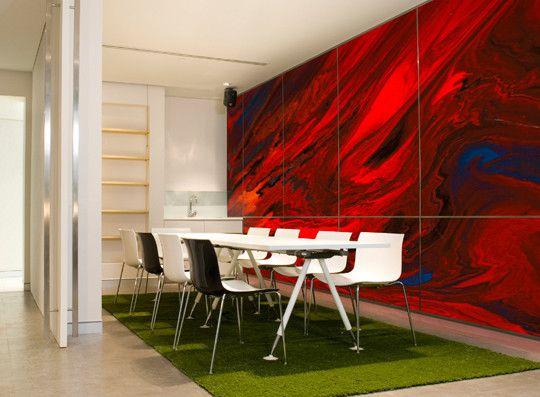 wandgestaltung ideen fr moderne wandgestaltung mit farbe im wohnzimmer - Wandgestaltung Mit Farbe
