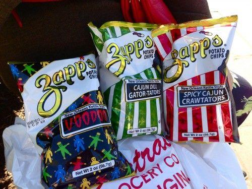 Zapp,s Potato Chips.New Orleans favorite!