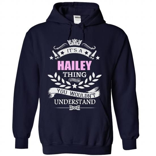 Hailey - #hoodie upcycle #sweaters for fall. ORDER NOW  => https://www.sunfrog.com/Names/Hailey-2152-NavyBlue-Hoodie.html?60505