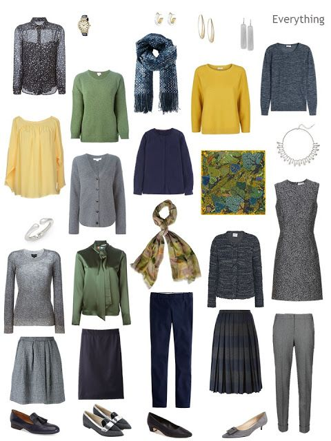 Build A Capsule Wardrobe Starting With Art: Yoro Falls In