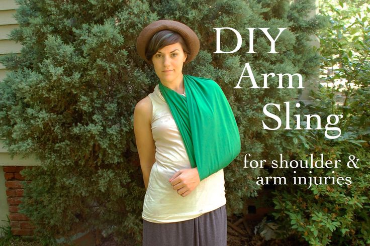 DIY: How to make an arm sling
