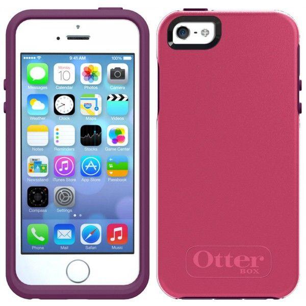 OtterBox iPhone 5/5S Symmetry Kılıf Pembe