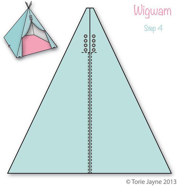 Wigwam Step 4 by toriejayne, via Flickr