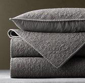 Vintage-Washed Belgian Linen Sham