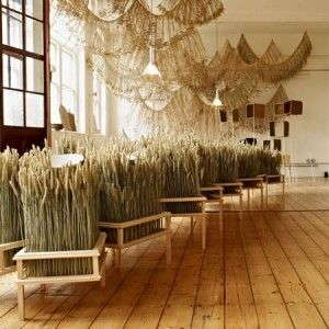 Corn Craft / Gallery FUMI and Studio Toogood, London #Gourmetillo Loves..!!!