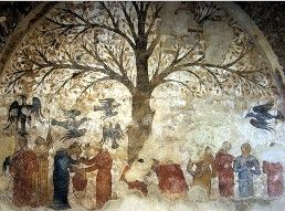 Tree of Fertility, Massa Marittima. Maybe not all parents would approve!