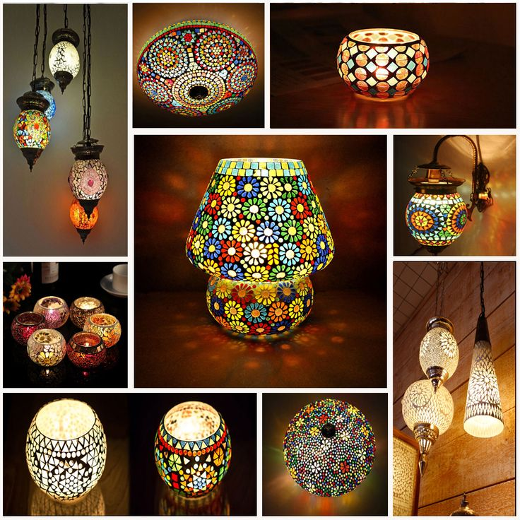 Decor Your Home From Delightful Mosaic Hang lamps This summer decor your home with very pretty glass mosaic lanterns. Which made up from pieces of cut glass painstakingly pieced together in a beautiful design.