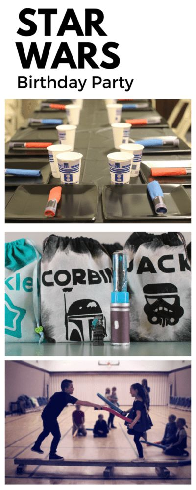 Star Wars Birthday Party Invitations, Decorations, and Activities