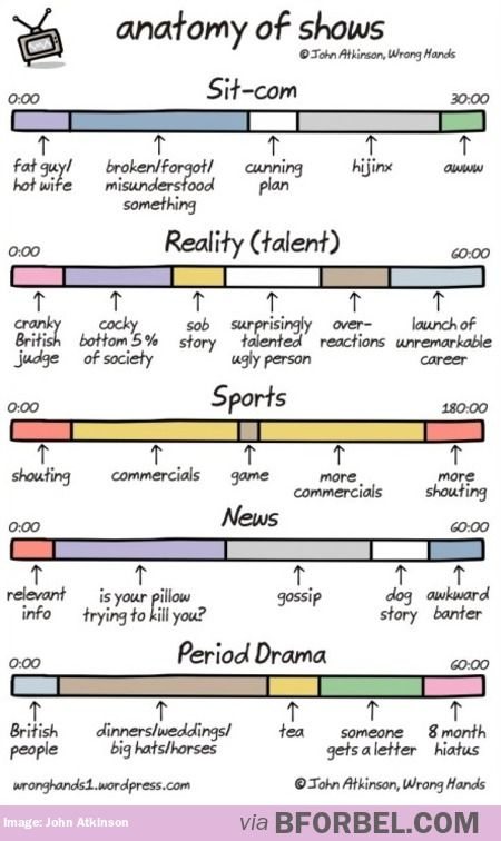 The Correct Anatomy Of TV Shows…