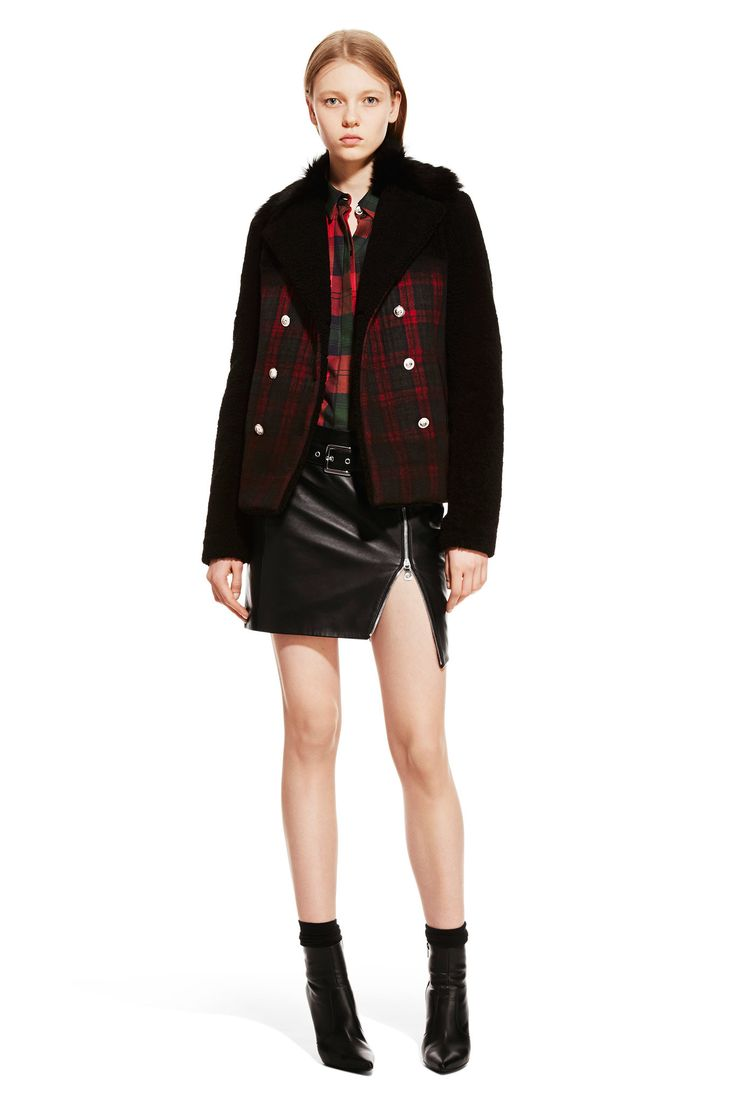 warmest winter jacket Versus Versace Fall 2015 Ready to Wear Collection Photos   Vogue