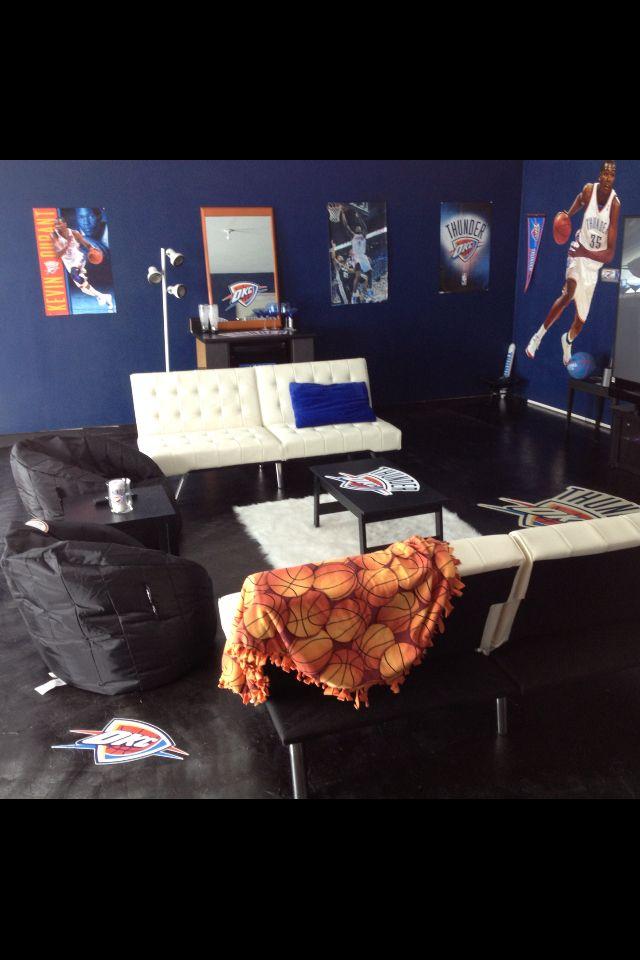 My OKC Thunder game room