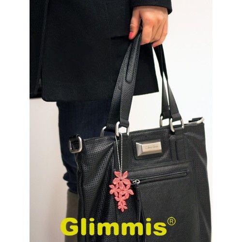 Red Lily on a bag. #heijastimet #helkurid #reflexer