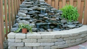Stone Wall Fountain Designs