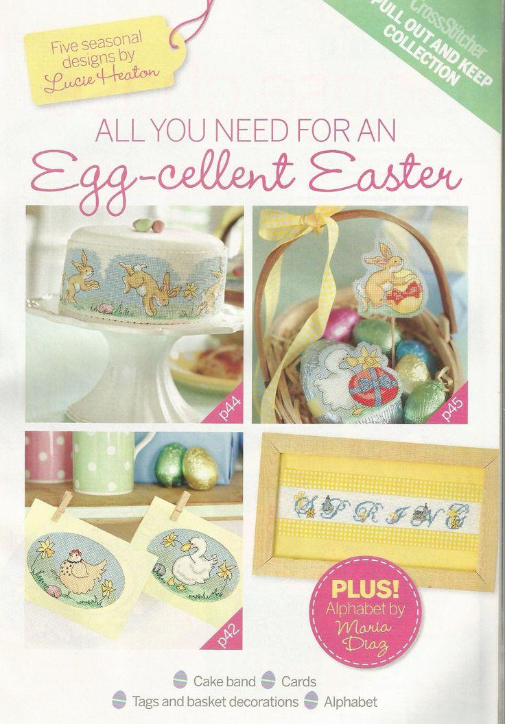 Egg-cellent Easter - Lucie Heaton  Alphabet by Maria Diaz