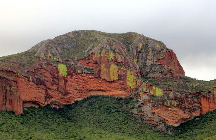 Beautiful rock formation outside De Rust, South Africa