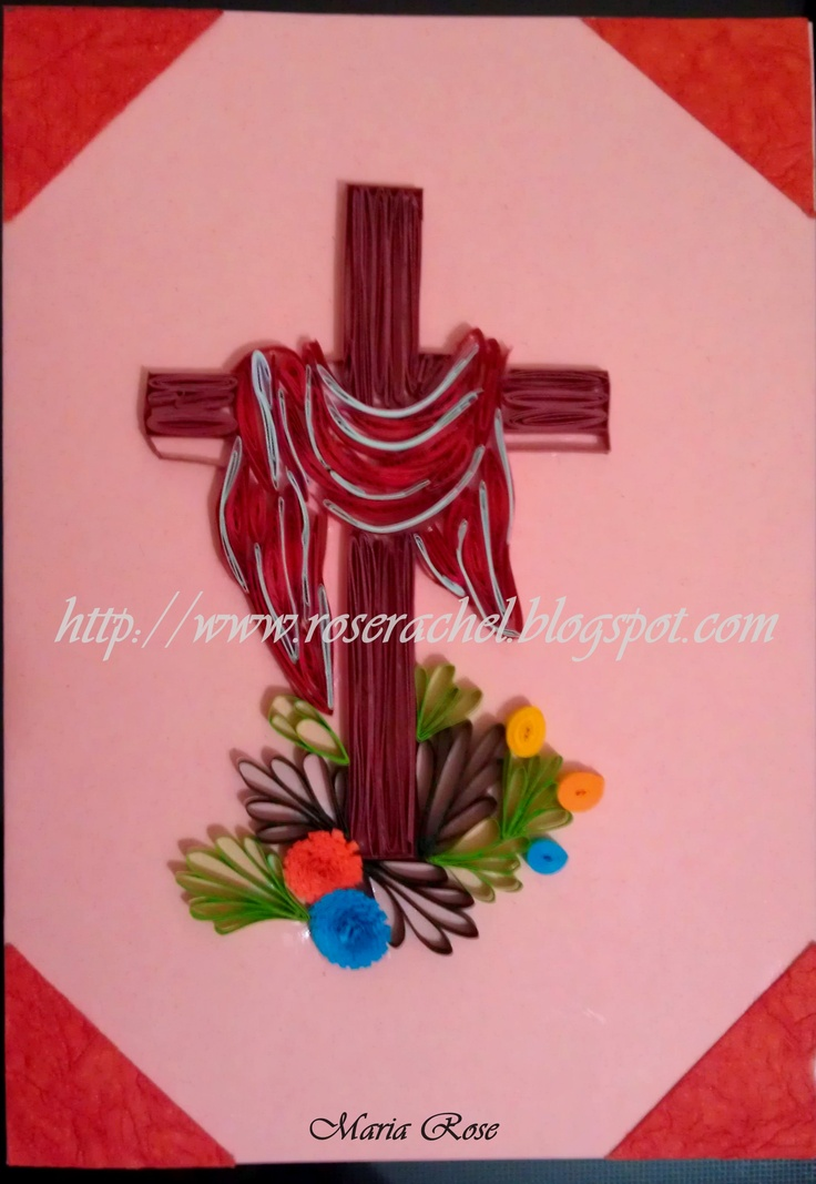 Quilled Easter card by: www.pinterest.com/rosyrachel1/paper-quilling/