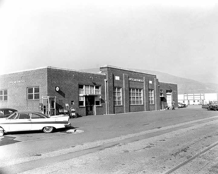 South San Francisco Circa 1960 Sp Peninsula Depots From Www Wx4 Org Historic Caltrain