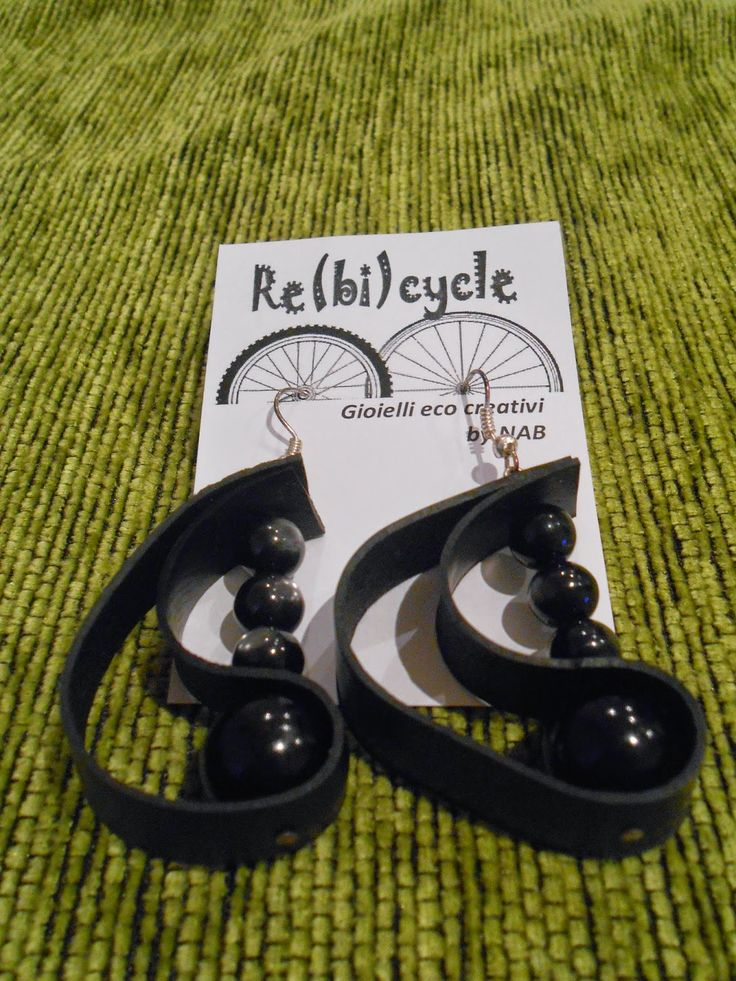 nespressart bijoux: re-bicycle: la rinascita delle camere d'aria
