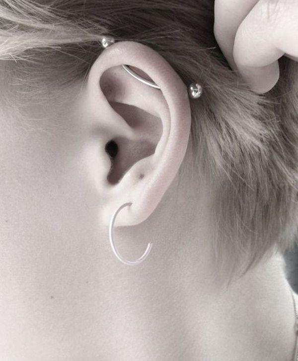 Best 25 Industrial Piercing Ideas On Pinterest Ear