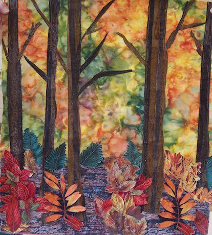 61 best tree trunks images on Pinterest | Paisajes, Quilt art and ... : woodlands quilt guild - Adamdwight.com