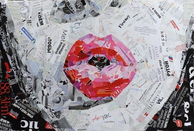 Коллажи от Казанского художника Славы Зайцева