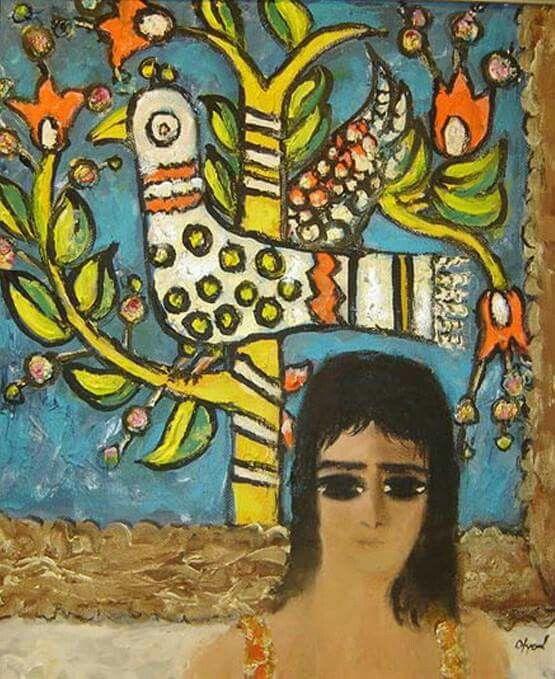 Turkish Artist Fikret Otyam
