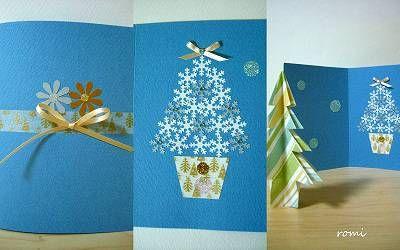 ☆手作りのクリスマスカード☆ - Giftworks ROMI 〜romiの気まぐれ日記〜